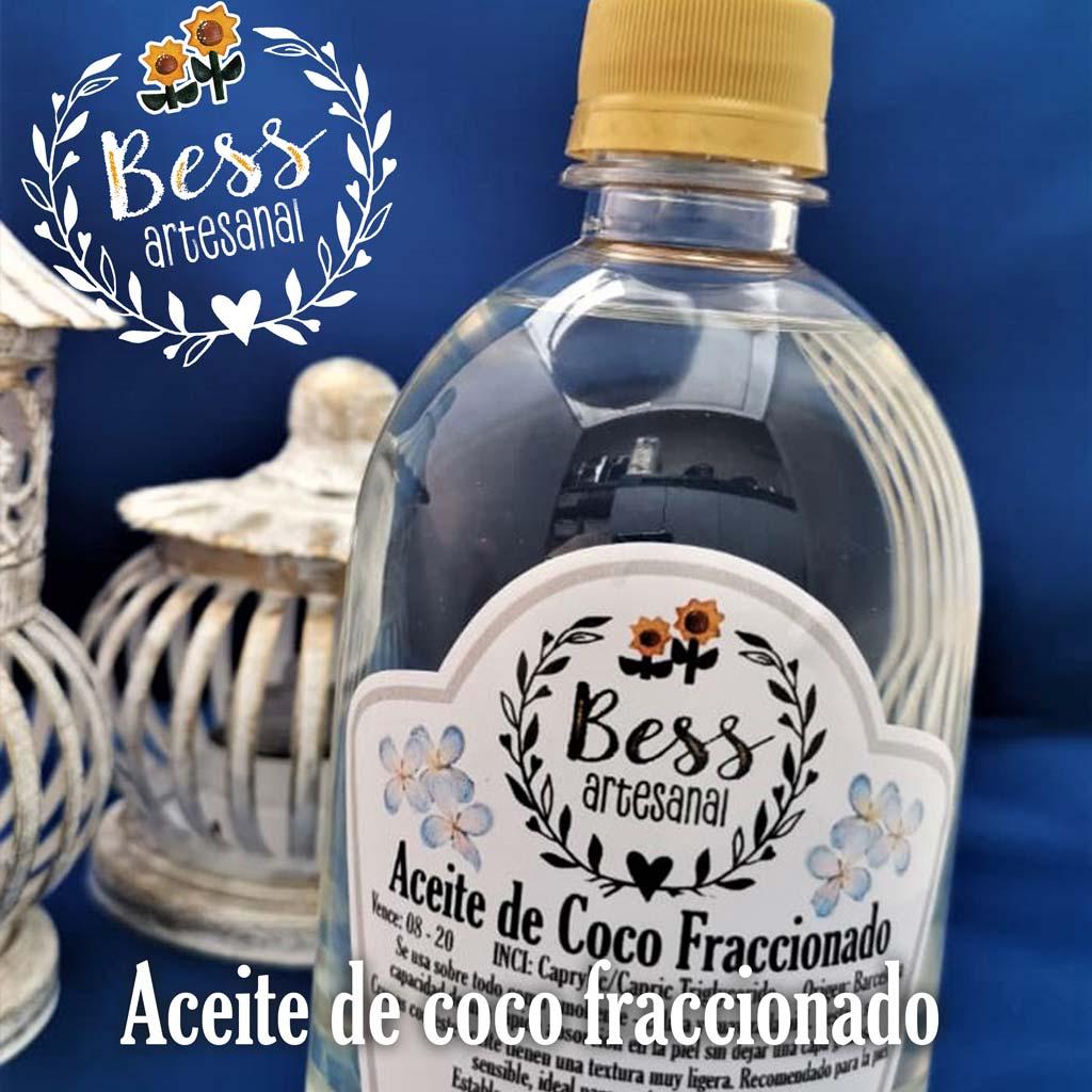 Bess Artesanal - Aceite de coco fraccionado