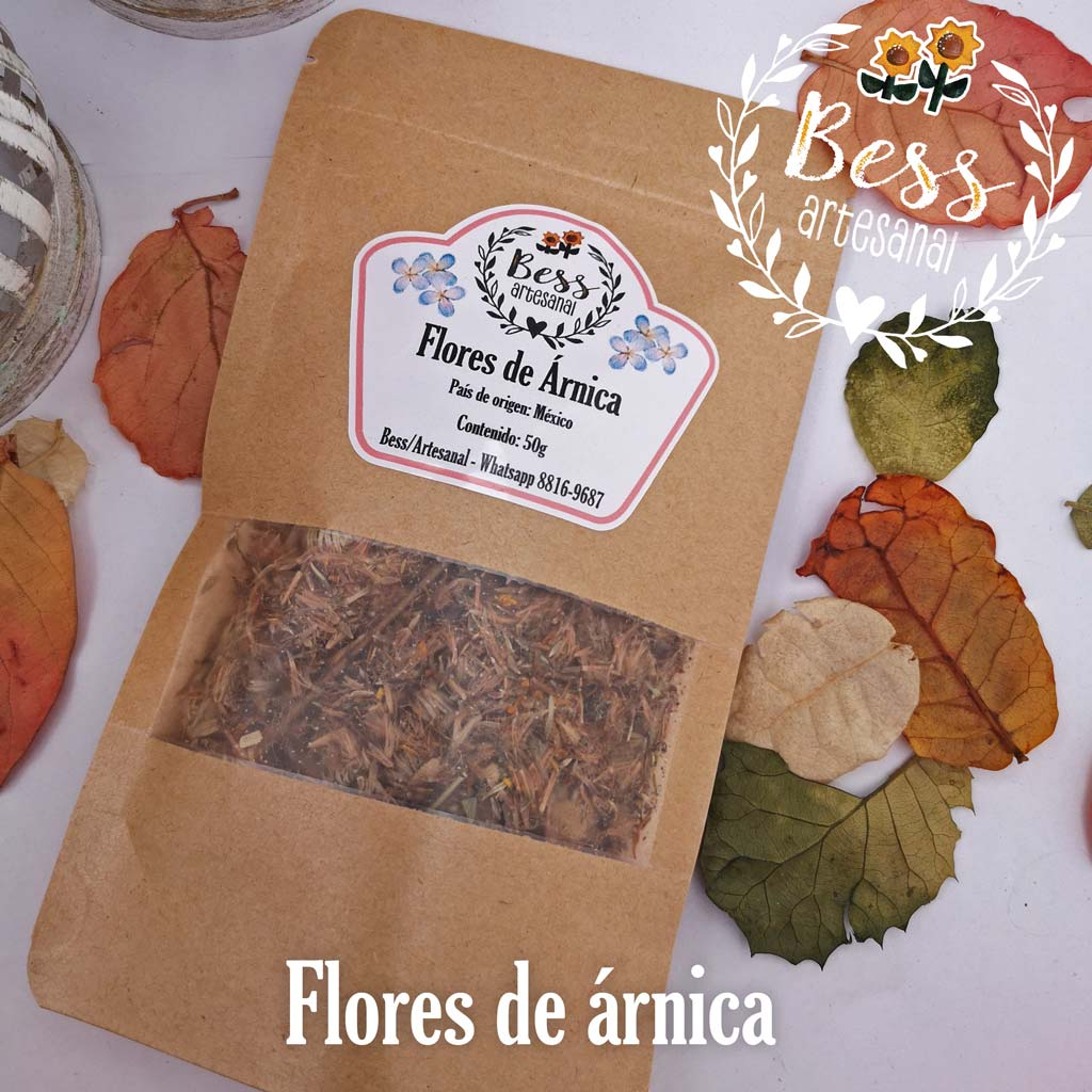 Bess Artesanal - Flores de árnica
