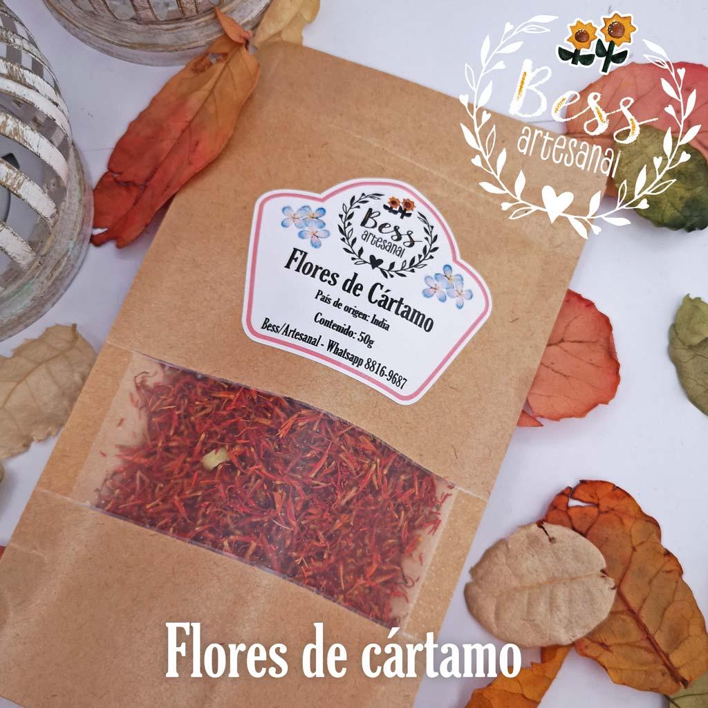 Bess Artesanal - Flores de cártamo