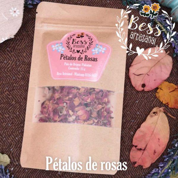 Bess Artesanal - Pétalos de rosas