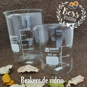 Bess Artesanal - Beakers de vidrio