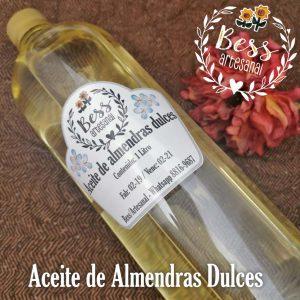 Bess Artesanal - Aceite de Almendras Dulces
