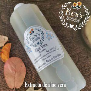 Bess Artesanal - Extracto de aloe vera