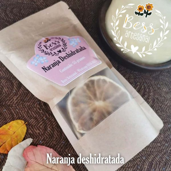 Bess Artesanal - Naranja deshidratada