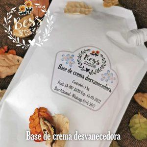 Bess Artesanal - Base de crema desvanecedora