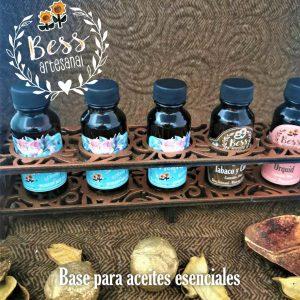 Bess Artesanal - Organizador para aceites esenciales