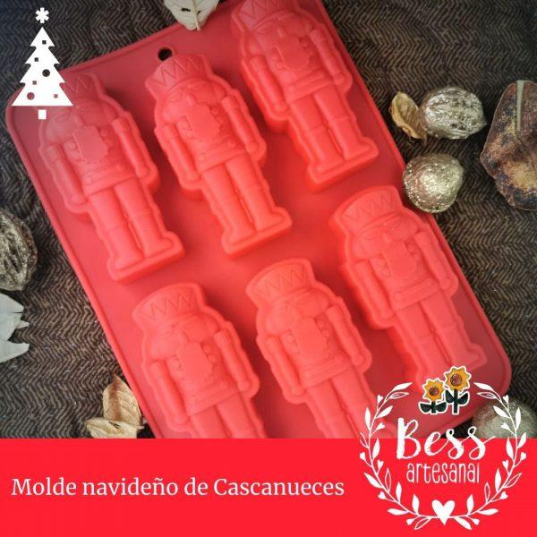 Bess Artesanal - Molde navideño de Cascanueces