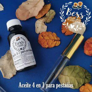 Bess Artesanal - Aceite 4 en 1 para pestañas