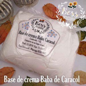 Bess Artesanal - Base de crema baba de caracol